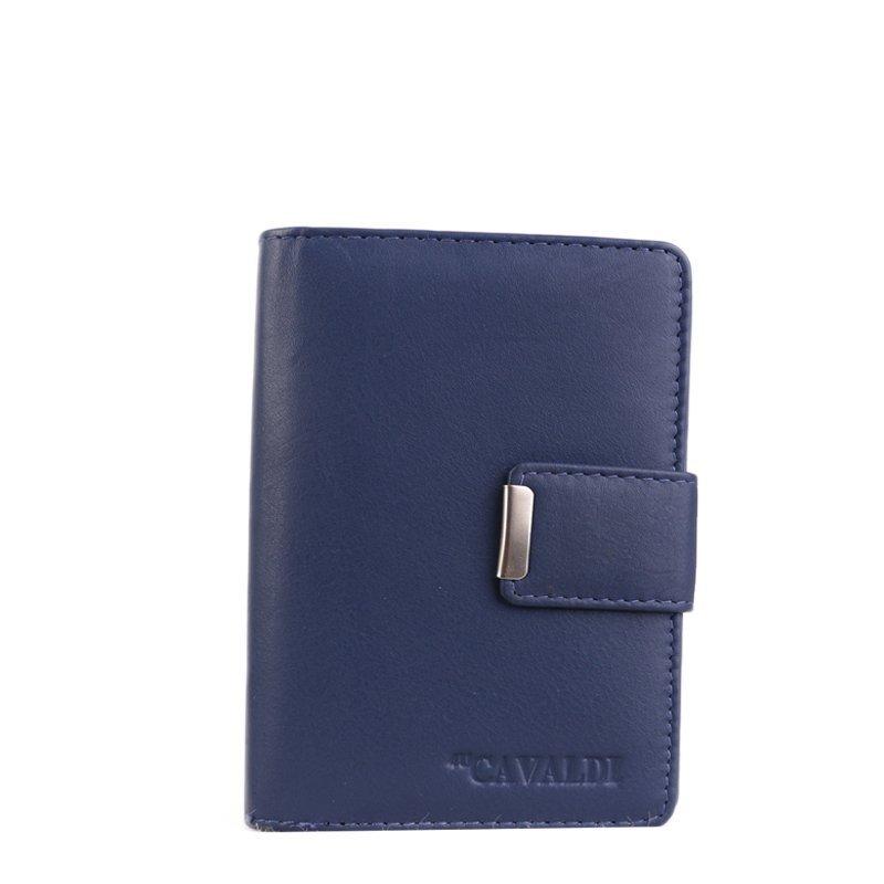 Kožená peněženka Cavaldi N109 Navy
