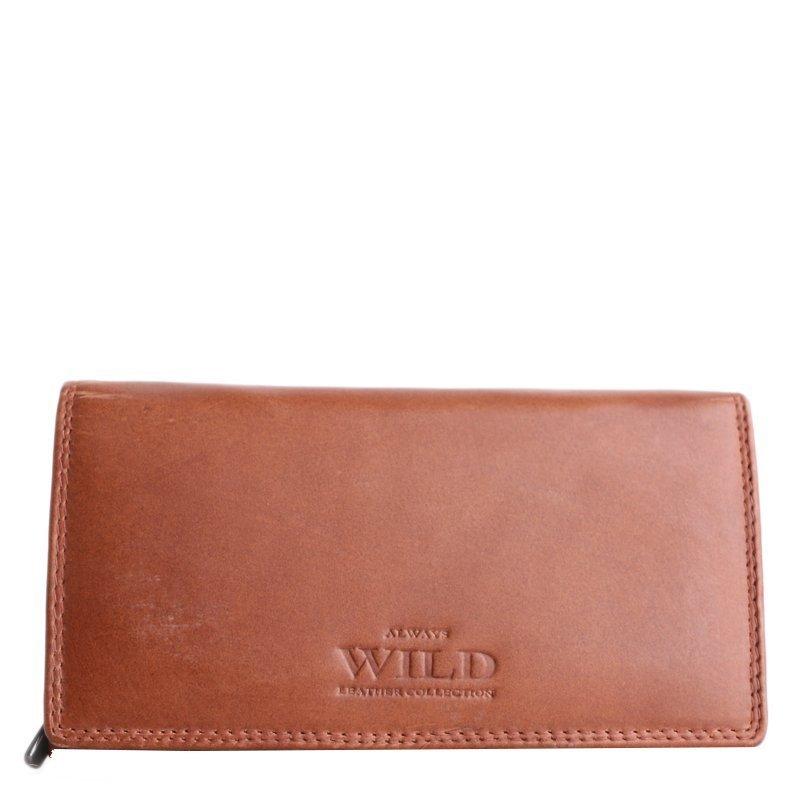 Kožené peňeženky Always Wild N22-CH Tan