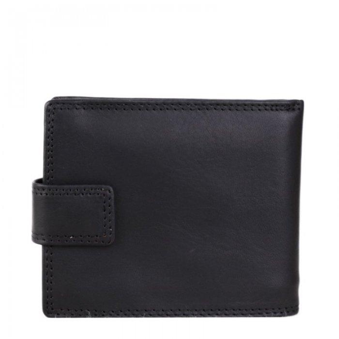65f937133 Pánské levné černé kožené peněženky OP-8252 nero | Emotys.cz