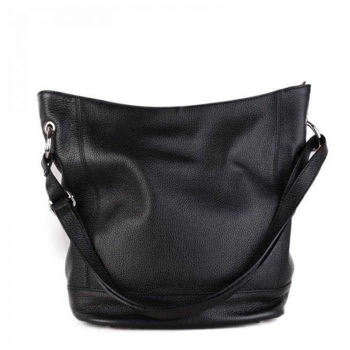 Kožené kabelky luxusné crossbody Talianske čierne Morena 28c016d7fad