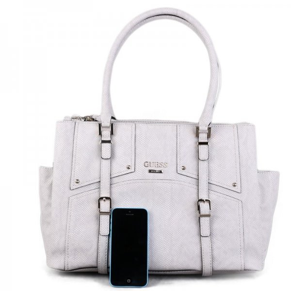 af9f0af85 Luxusní značkové kabelky Guess jemně šedé LZ503209   Emotys.cz