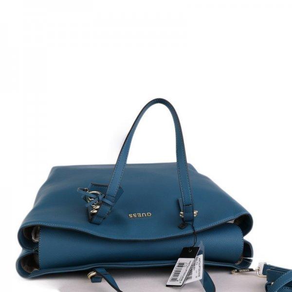 Guess luxusné značkové kabelky do ruky modré HWTULIP7223EME 95a73c00c4b