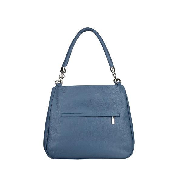 Kožené luxusní modré značkové kabelky přes rameno Esmeralda 31215 ... cc81e47fbb6