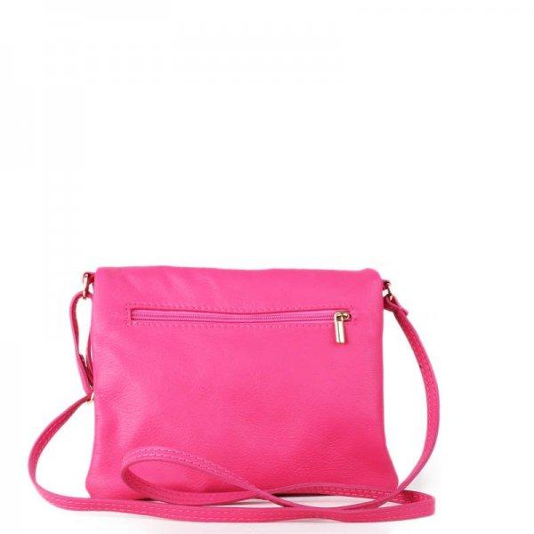 895fbf18764 vera pelle kožené kabelky korzika silně růžové malé