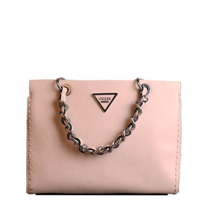 00c08d9a38 Značkové kabelky Guess jemně růžové vy695905 stone