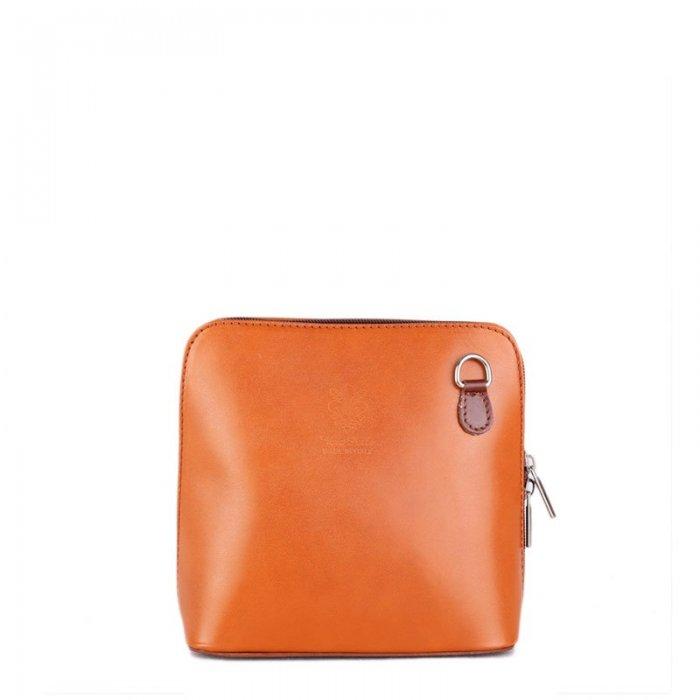 c64684ddd5 malé italské kožené kabelky milana kamel s hnédou. kožené kabelky vera pelle  ...