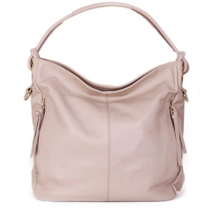 b55c1fdd10 Luxusní béžové dámské kabelky z kůže salvare