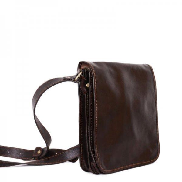 ... Luxusní crossbody pánské kožené tašky na rameno Ricardo čokoládová.  Sleva. pánska kožená taška u Itálie · kožená pánska taška z Itálie ricardo b9f4a5f11f7